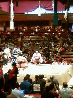 大相撲初場所12<br />  日目。